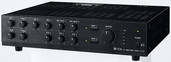 Amply-Mixer-120W-chọn-2-vùng-loa-TOA-A-1712-1