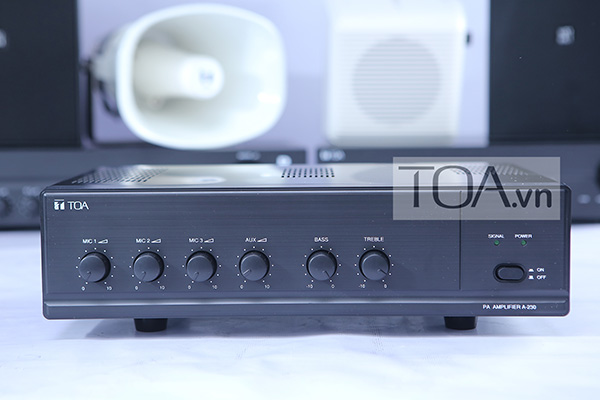 Amply-Mixer-30W-TOA-A-230-HV