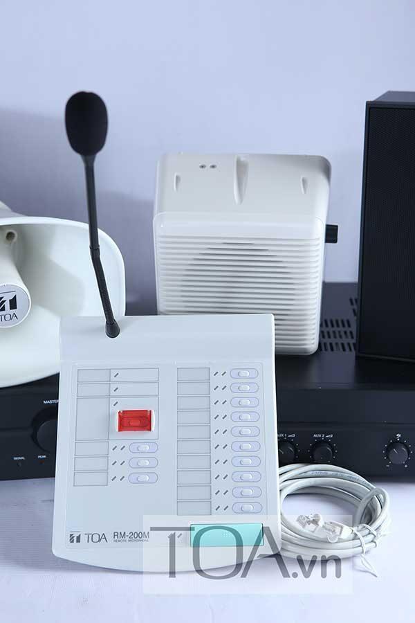 Micro-điều-khiển-từ-xa-chọn-10-vùng-loa-TOA-RM-200M-4